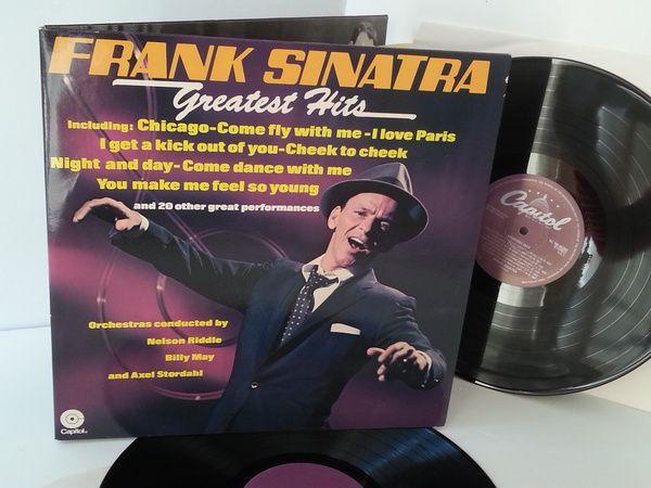 [b]SOLD[/b]FRANK SINATRA greatest hits - SOUNTRACKS, COMEDY, POP, VARIOUS ARTISTS, MISC. #LP Heads, #BetterOnVinyl, #Vinyl LP's