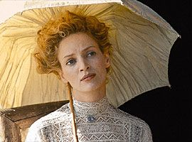 The Golden Bowl (2000) #movie by James Ivory with Uma Thurman as Charlotte #CostumeDesign: John Bright