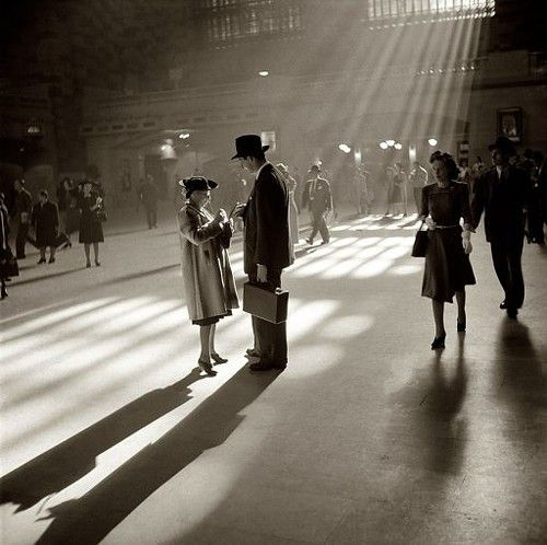October 1941.Grand Central Terminal, New York City. J.Collier