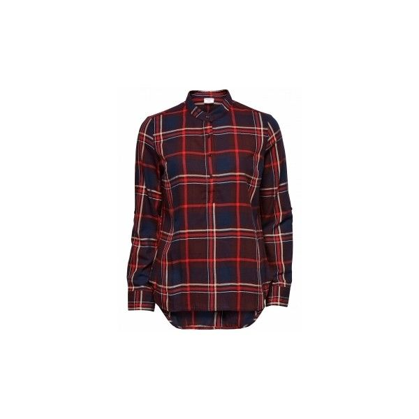 jordan shirt: Angels webshop - De nieuwste Only en Vero Moda kleding,... ❤ liked on Polyvore featuring tops, red henley shirt, red shirt, henley tops, vero moda and women tops