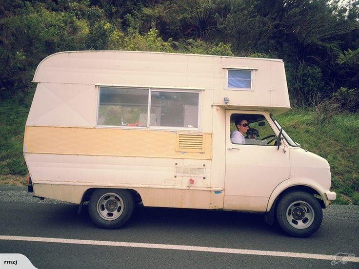Custom 1972 Bedford Original Collectors Camper Van Trade