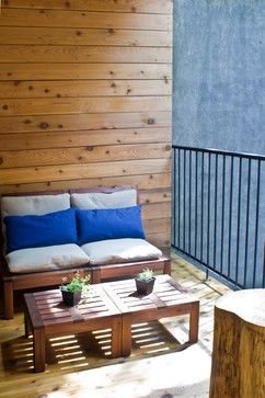 Contemporary Outdoor Coffee Table Design Ideas, Pictures, Remodel and Decor