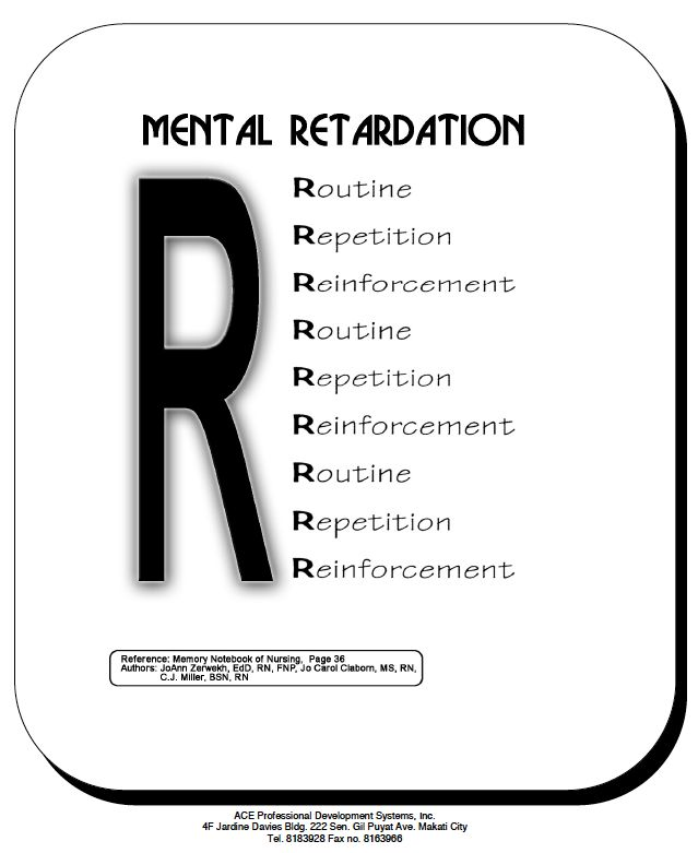 mental retardation and child development The development of children with mental retardation can sometimes look different than their typically developing peer.