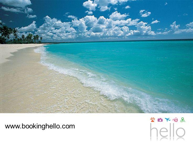 VIAJES EN PAREJA. Bayahíbe entra en el ranking de las mejores playas del Caribe, ya que sus aguas cálidas y su bajo oleaje la convierten en el paraíso perfecto para nadar tranquilamente o hacer un recorrido en kayak, para contemplar un paisaje excepcional. En Booking Hello te invitamos a compartir los mejores momentos con tu pareja en sus próximas vacaciones, sólo necesitan adquirir alguno de nuestros packs all inclusive para asegurar la mejor estancia en República Dominicana…
