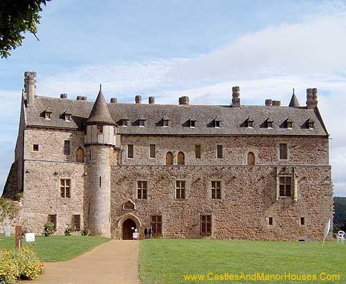 Château de la Roche-Jagu Ploëzal, Côtes-d;Armor, Bretagne, France.
