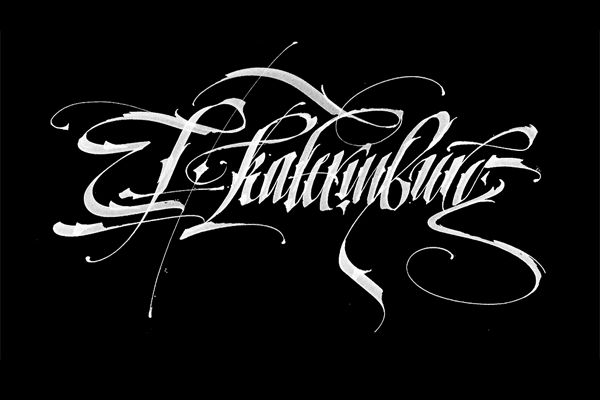 Calligraphy by Pokras Lampas. More on http://lookslikegooddesign.com/calligraphy-by-pokras-lampas/