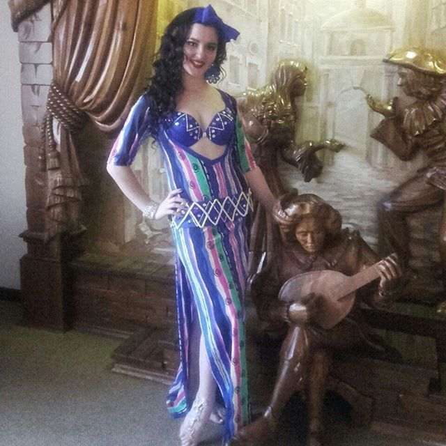 Kiseleva Daria costume by Artistka Bellidance Bellirinaschool #bellydanceonly2016