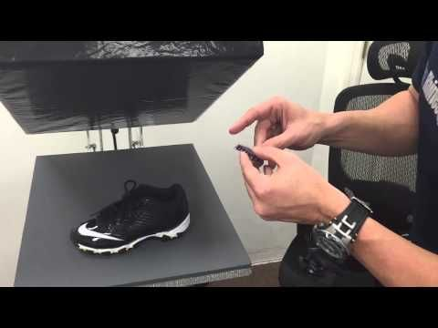 How to Heat Press Football Cleats and Glove for custom orders with Siser HTV TRW TV - YouTube