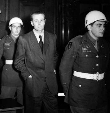 """hans Fritzsche was acquitted by the IMT.  He said, """"I am entirely overwhelmed--to be set free right here, not even to be sent back to Russia.  That was more than I hoped for."""" He was later tried and convicted by a German court, then freed in 1950. He died in 1953."""