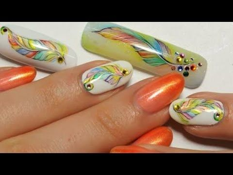 Summer Nail art Feather -    Nail Art feather special summer by Cutenails Distribution Wizdeo. Video Rating:  / 5 https://www.avon.com/category/makeup/nails?repid=16581277  ❤ OPEN FOR PRODUCT INFO & MORE! Ombre diamond nail art! Fun, summer nails! Geometric nail art! Check out my blog! http://hannahroxit.com Hey guys! So I decided to recreate my ombre diamond nails that I did for the final video for The Essie's! A lot of you wanted to see it done up close and per