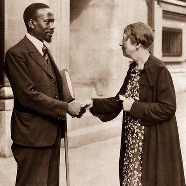 Jomo Kenyatta School Days in England