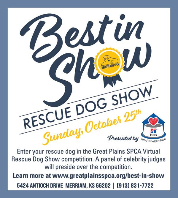 Rescue Dog Show Hosted By Great Plains Spca In 2020 Dog Show Rescue Dogs Spca