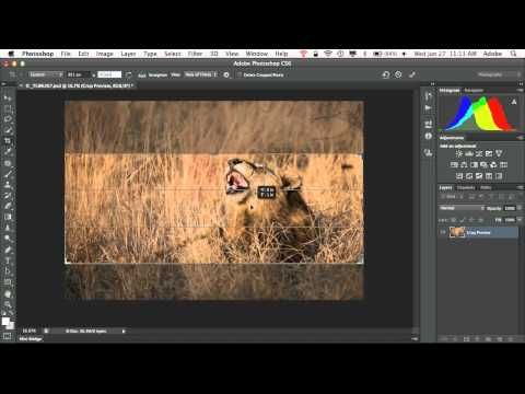 How To Create A Facebook Cover Photo Using Photoshop CS6 - PSE too!