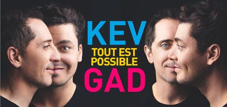 Kev Adams et Gad Elmaleh - Tout est possible