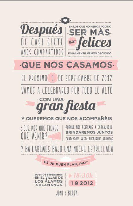 Las Invitaciones… | Confesiones de una Wedding Planner