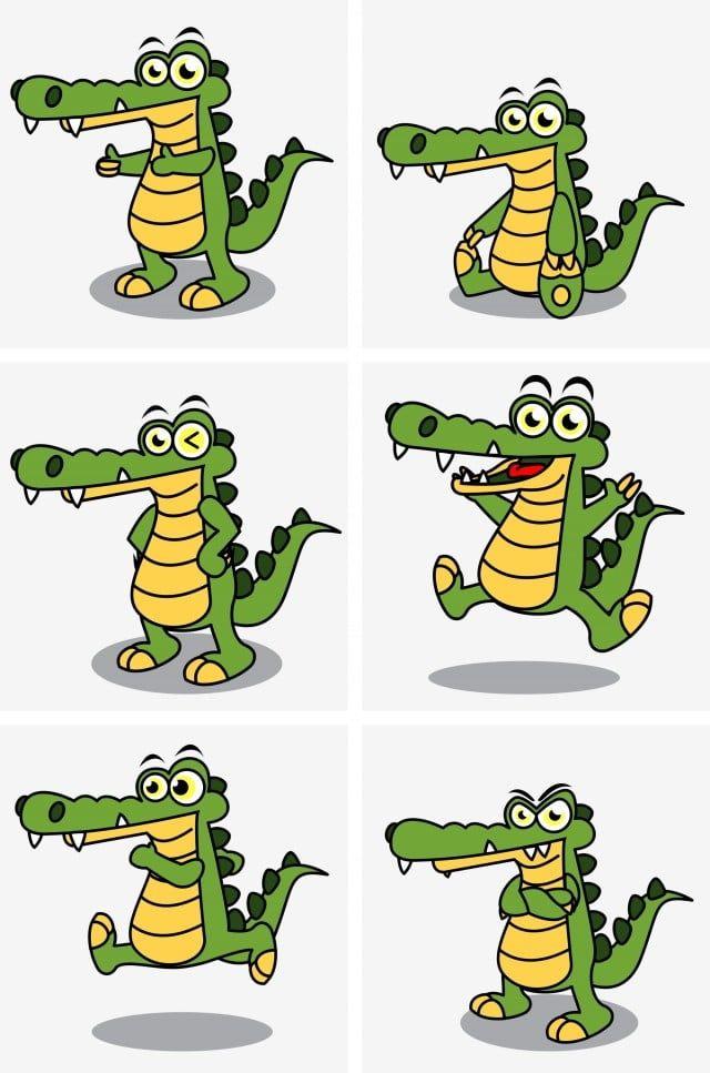 Vector Green Crocodile Crocodile Clipart Green Vector Green Crocodile Png Transparent Clipart Image And Psd File For Free Download Crocodile Cartoon Crocodiles Cute Pink Background