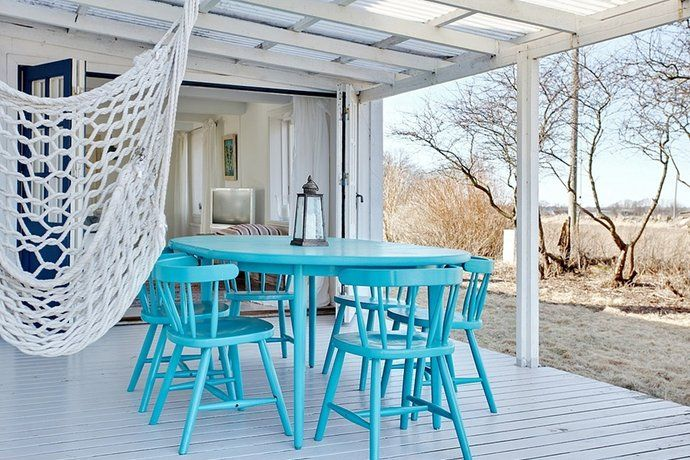 Rainproof deck perfection.