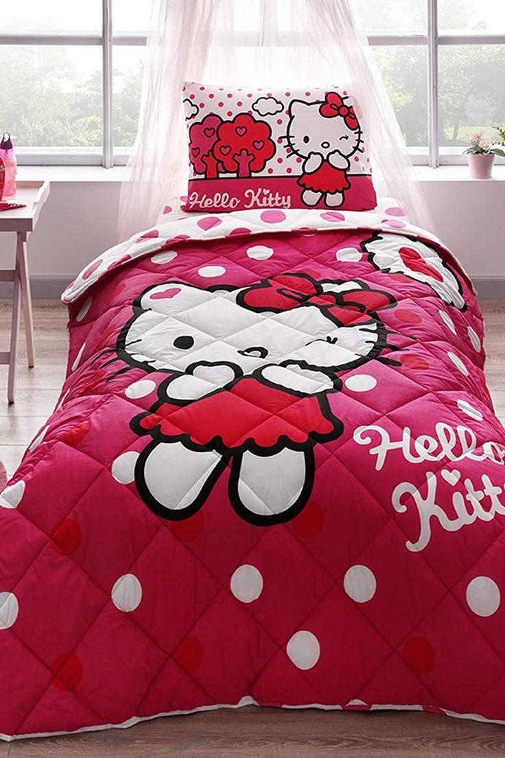 Hello Kitty Bedroom Set Amazon Paradise Ranforce Cotton ...