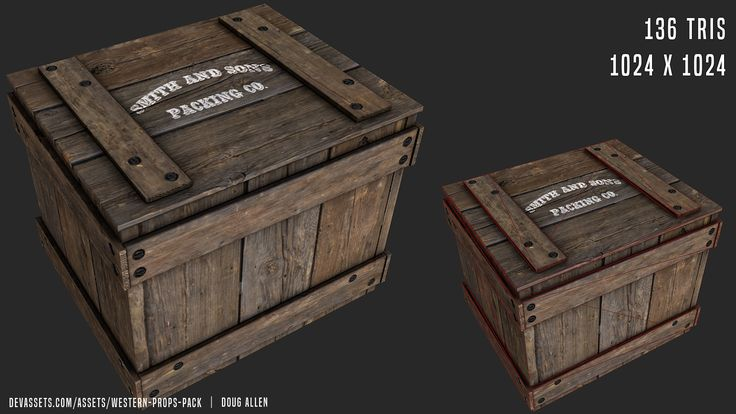 I was commissioned by Devassets.com to produce a western asset pack. Of course, donations towards my efforts are appricated. However, this pack can be downloaded for free here: http://devassets.com/assets/western-props-pack  These assets were designed for use with Unity.