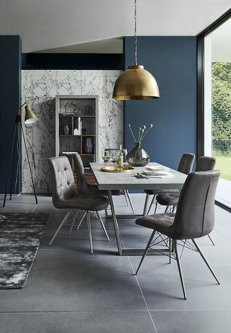 Get a modern, minimalist look in your dining room with the contemporary Halmstad Dining Table. | www.bocadolobo.com #bocadolobo #luxuryfurniture #exclusivedesign #interiodesign #designideas #diningtable #luxuryfurniture #diningroom #interiordesign #moderndiningtable #diningtableideas#minimalist #scandinavian