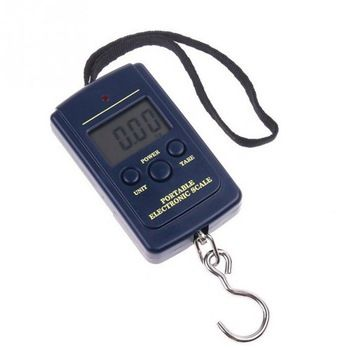 Digital Scales 0.01kg - 40kg Hanging Scale Luggage Weight Balance Steelyard Black LCD Mini Pocket Scale Electronic Scale  Price: 2.90 USD