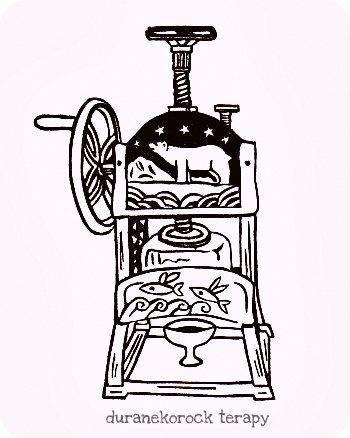 シャリシャリかき氷はんこ番外編 メイママご自慢!かき氷機シロクマの巻 Ice shaver
