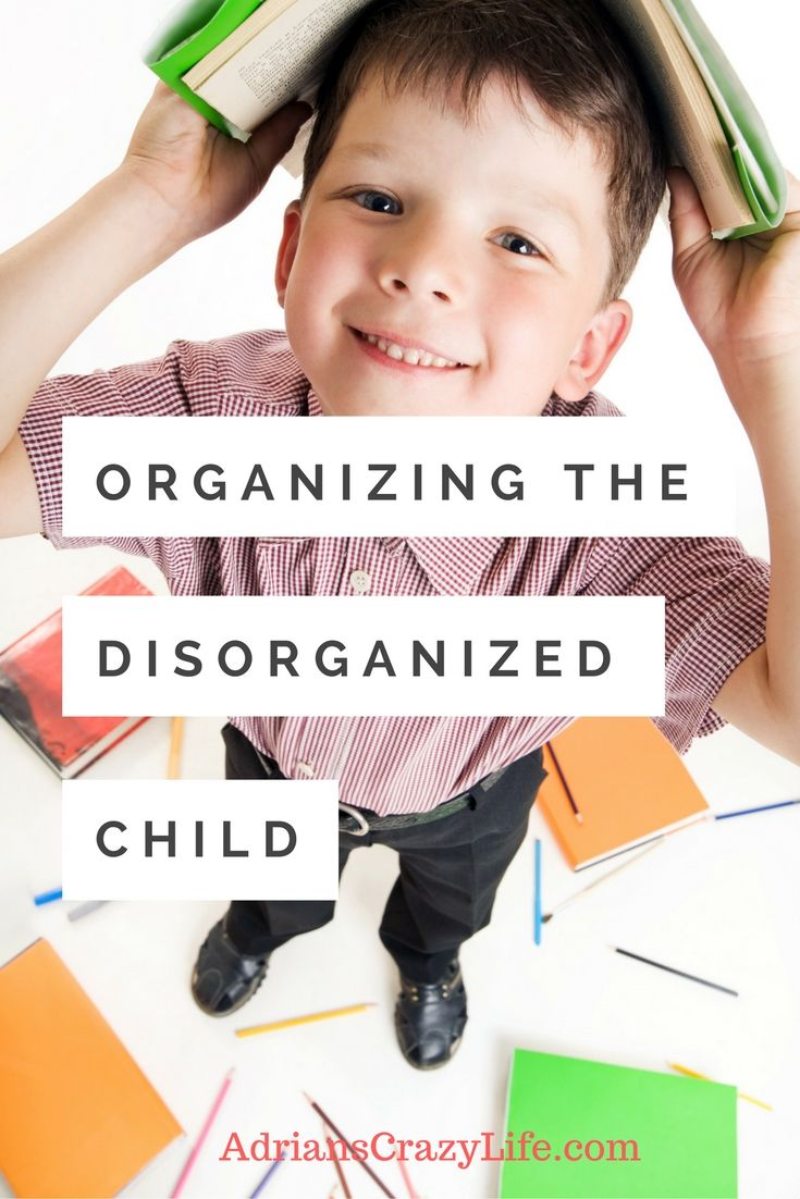 If your child has ADD or is just poorly organized, these tips can help.