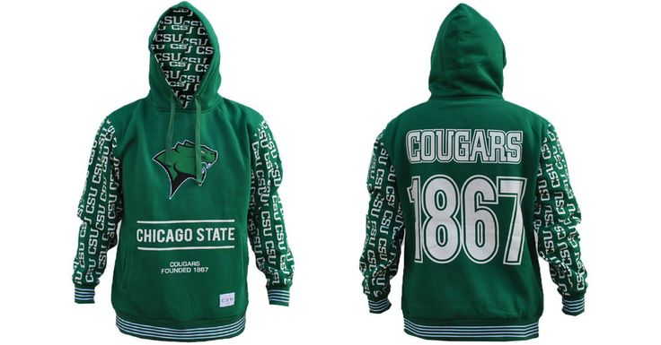 Chicago State University Hoodie - Brothers and Sisters' Greek Store