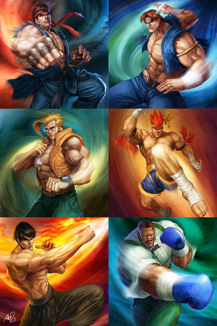 Street Fighter - Powerfoil 1 by `Artgerm on deviantART