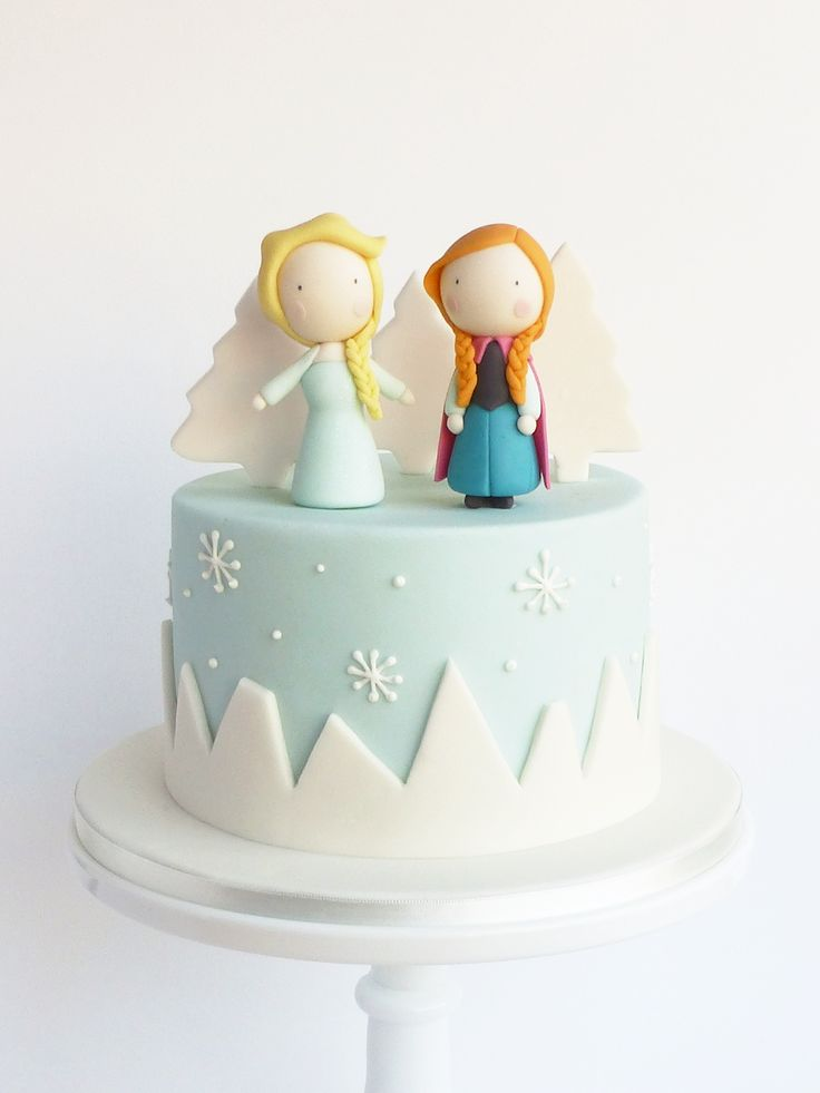 Peaceofcake ♥ Sweet Design: Frozen Cake • Bolo Frozen