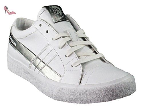Diesel , Baskets pour femme multicolore Mehrfarbig - blanc - Weiß, - Chaussures diesel (*Partner-Link)