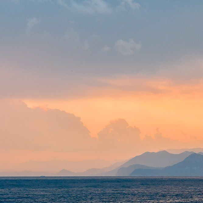 #ulcinj #montenegro #cernahora #nikon #mountains #summer #sunset #clouds #holiday #leto