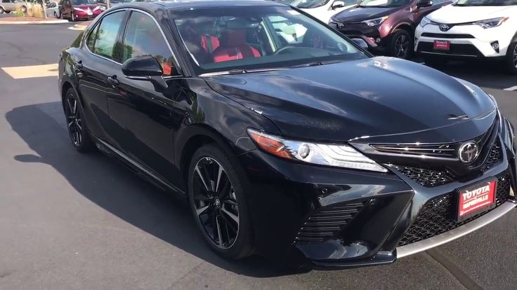 2018 Toyota Camry V6 Xse Start Up And Walk Around With Red