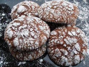 "Biscuiti ""Chocholate Crinkles"""