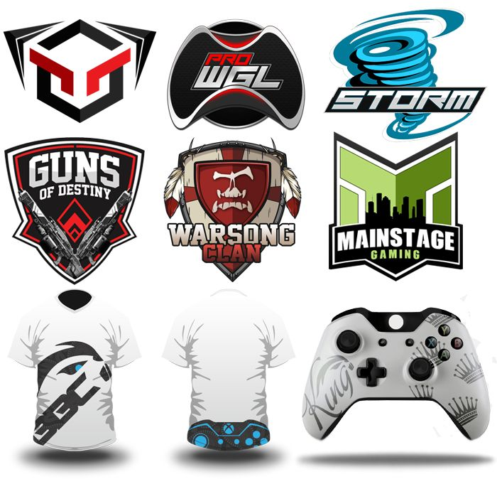 8 best gamer clan logo images on pinterest game logo