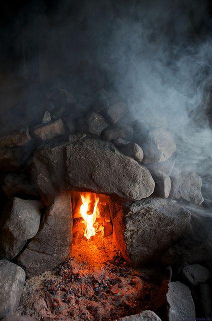savusauna | sauna de humo | smoke sauna