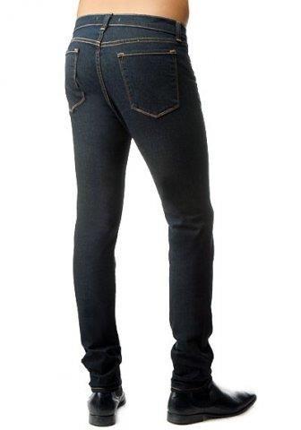 Облегающие брюки на худые ноги