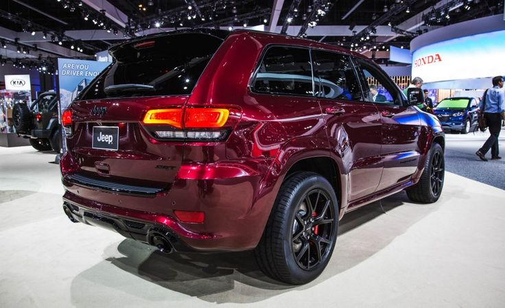 View Red As Night: New 2016 Jeep Grand Cherokee SRT Night Photos from Car and Driver. Find high-resolution car images in our photo-gallery archive.