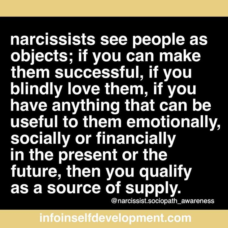 They chose people who won't confront them of their bad behaviors. They are master manipulators.