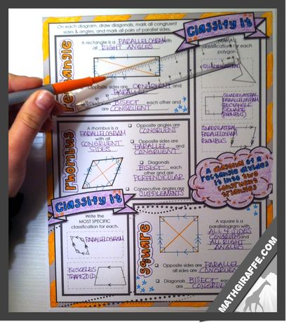 Quadrilaterals part 2 (Tons of links to amazing quadrilateral resources) | Everthing Math! | Bloglovin'