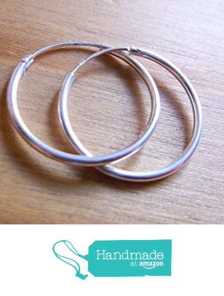 Sterling Silver 925 20mm Hoop Earrings from ClutchandClasp https://www.amazon.co.uk/dp/B01N598UEC/ref=hnd_sw_r_pi_dp_85l3ybAPM35NH #handmadeatamazon