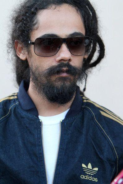 Damian Marley, son of famous reggae musician Bob Marley ...