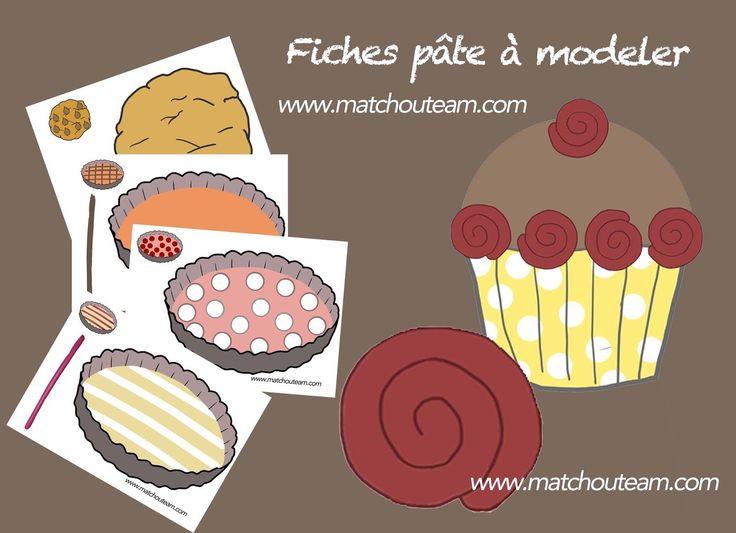 www.matchouteam.com Activités pâte à modeler.