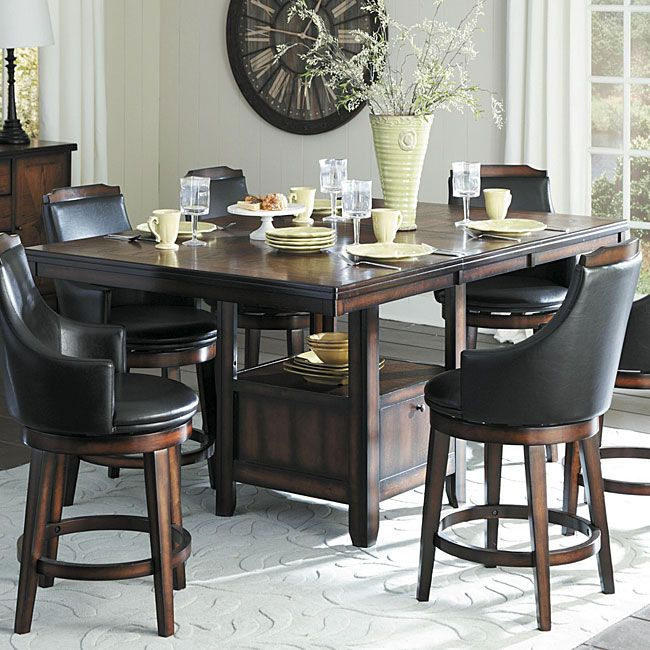 7 Best Pub Style Sets Images On Pinterest  Dining Room Tables Amazing Standard Dining Room Chair Height 2018