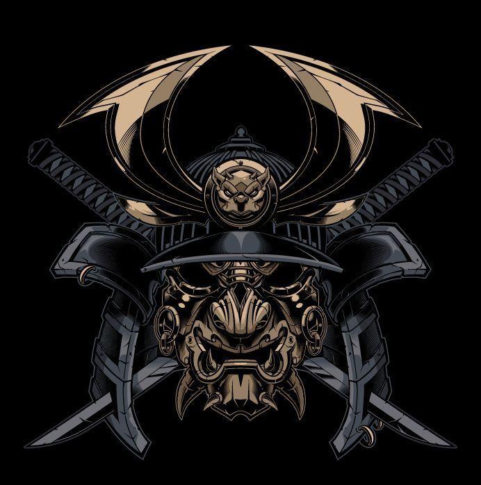 Resultado de imagem para samurai masks tattoos | T…