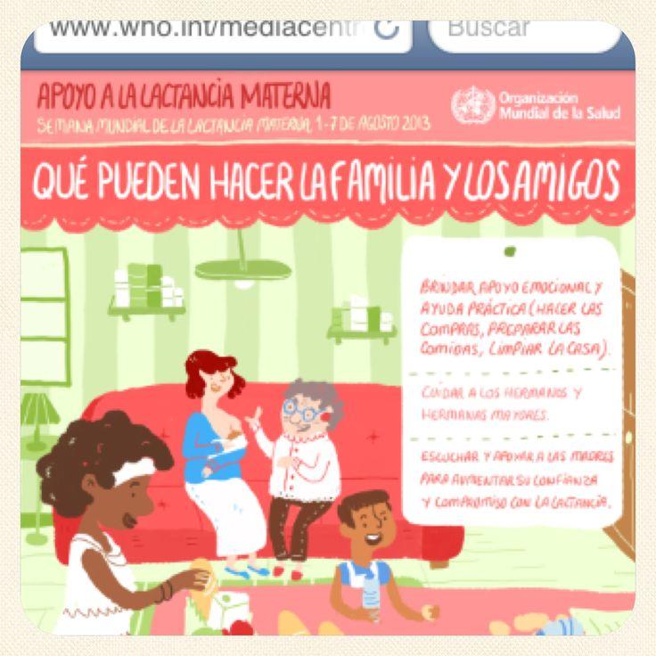 Apoyo a la lactancia materna, OMS 2013
