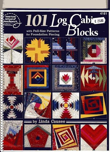 101 LogCabinBlocks - Aderita Rubio - Álbuns da web do Picasa...THIS IS A FREE BOOK WITH PATTERNS!