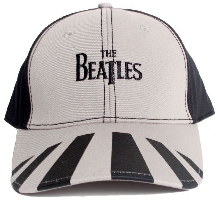 the official cap featuring printed abbey road design embroidered beatles baseball hat
