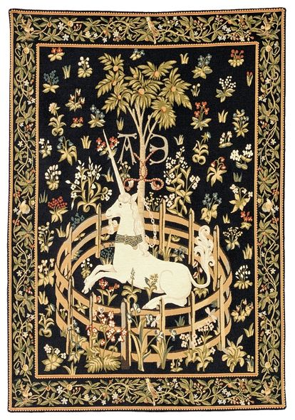Unicorn Tapestry Wall Hanging Picture Unicorn In