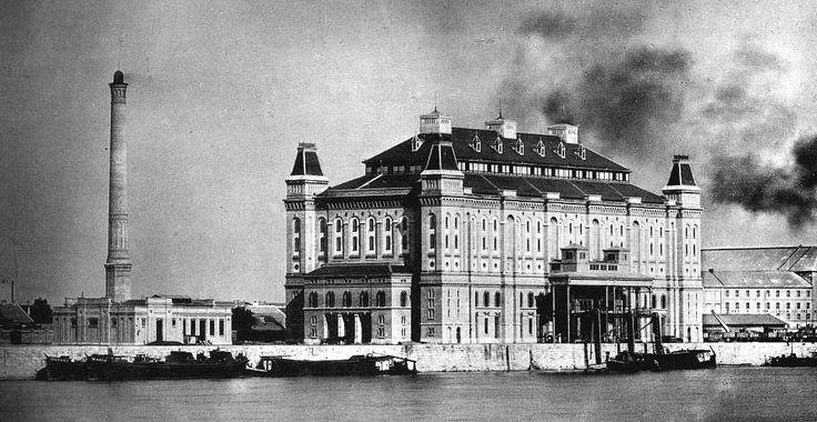 Elevátor-ház, Boráros tér 1881